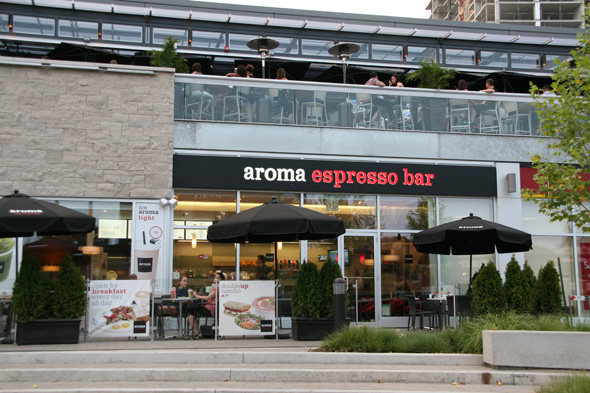 Start your day off with breakfast at Aroma. Photo via Blogto