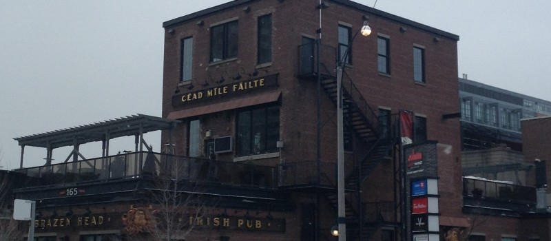 Brazen Head Irish Pub mixes the style of Liberty Village with the charm of authentic Irish pubs