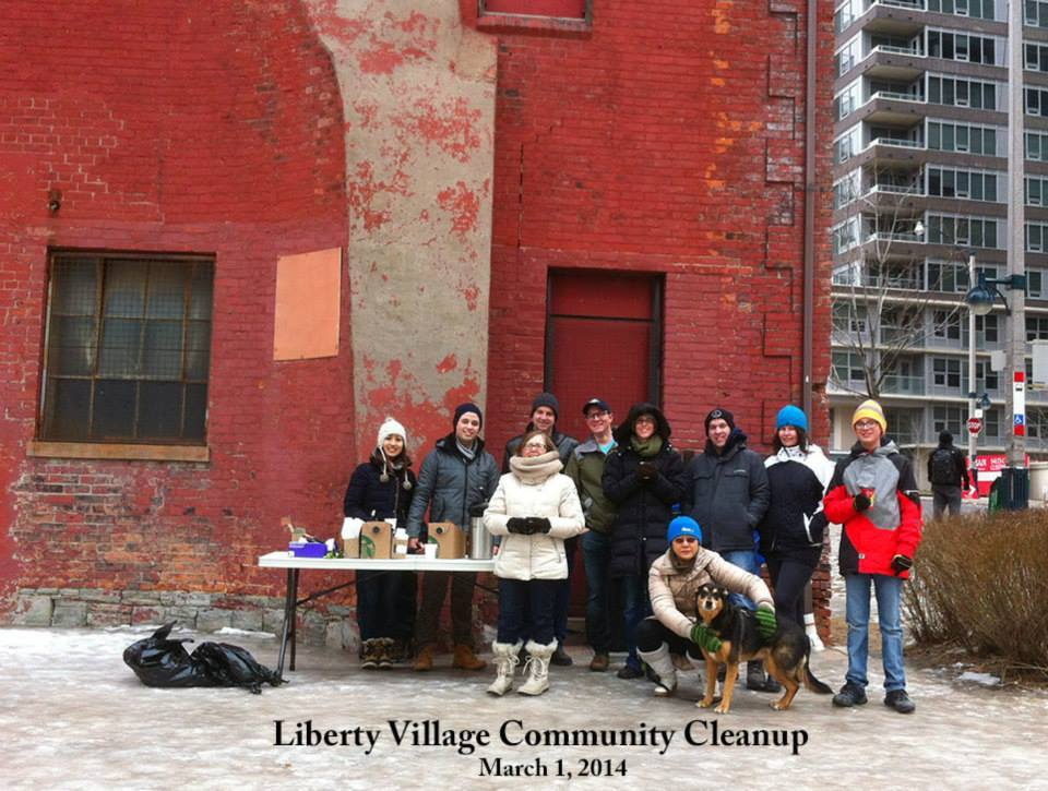 Liberty Village Residents Association come together for community initiatives. Photo via Liberty Village Residents Facebook