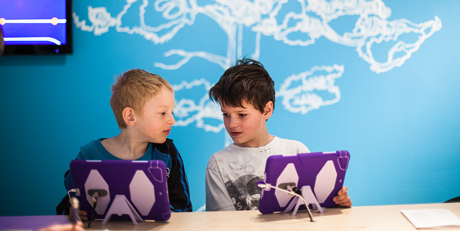 Kids' interest in video games can be expanded on into different areas through TIFF's camps. Photo via tiff.ca