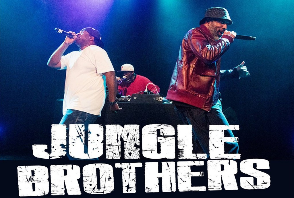 Jungle Brothers - Photo from a3cfestival