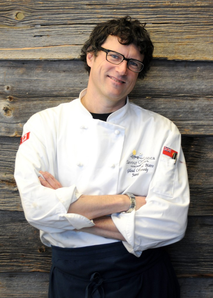 Photo of Chef Jamie Kennedy from SeaChoice