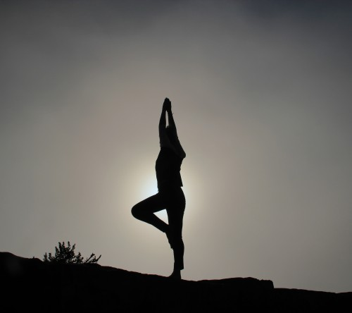 Yoga - Photo from Unsplash -Patrick Hendry